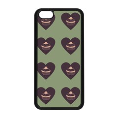 Cupcake Green Apple Iphone 5c Seamless Case (black) by snowwhitegirl
