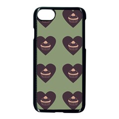 Cupcake Green Apple Iphone 8 Seamless Case (black) by snowwhitegirl