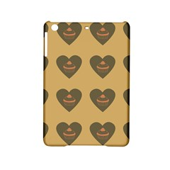 Cupcake Pumpkin Orange Grey Ipad Mini 2 Hardshell Cases by snowwhitegirl