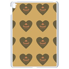 Cupcake Pumpkin Orange Grey Apple Ipad Pro 9 7   White Seamless Case by snowwhitegirl