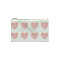 Cupcake White Pink Cosmetic Bag (small)  by snowwhitegirl