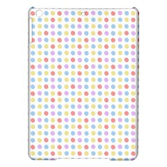 Blue Pink Yellow Eggs On White Ipad Air Hardshell Cases by snowwhitegirl