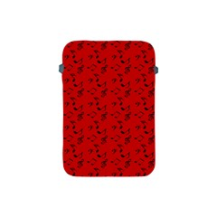 Red Music Apple Ipad Mini Protective Soft Cases by snowwhitegirl
