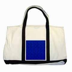 Royal Blue Music Two Tone Tote Bag