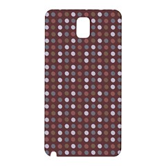Grey Pink Lilac Brown Eggs On Brown Samsung Galaxy Note 3 N9005 Hardshell Back Case by snowwhitegirl