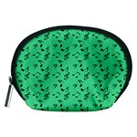 Green Music Accessory Pouches (Medium)  Front