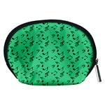 Green Music Accessory Pouches (Medium)  Back