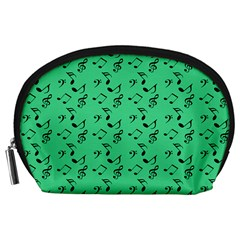 Green Music Accessory Pouches (large)