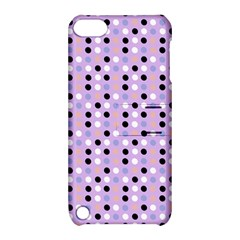 Black White Pink Blue Eggs On Violet Apple Ipod Touch 5 Hardshell Case With Stand by snowwhitegirl