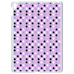 Black White Pink Blue Eggs On Violet Apple Ipad Pro 9 7   White Seamless Case