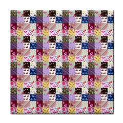 Quilt Of My Patterns Small Face Towel