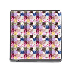 Quilt Of My Patterns Small Memory Card Reader (square)