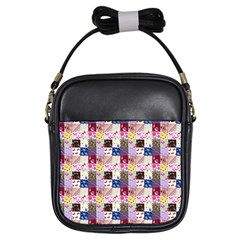 Quilt Of My Patterns Small Girls Sling Bags