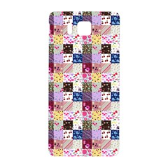 Quilt Of My Patterns Small Samsung Galaxy Alpha Hardshell Back Case by snowwhitegirl