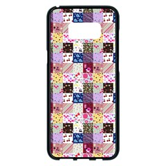 Quilt Of My Patterns Small Samsung Galaxy S8 Plus Black Seamless Case