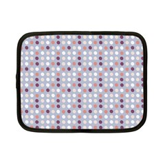 Pink Purple White Eggs On Lilac Netbook Case (small)  by snowwhitegirl