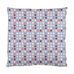 Pink Purple White Eggs On Lilac Standard Cushion Case (two Sides) by snowwhitegirl