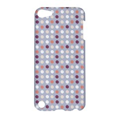 Pink Purple White Eggs On Lilac Apple Ipod Touch 5 Hardshell Case by snowwhitegirl