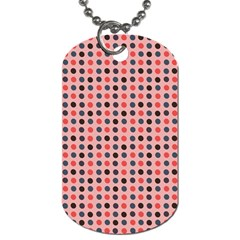 Grey Red Eggs On Pink Dog Tag (two Sides) by snowwhitegirl