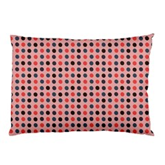 Grey Red Eggs On Pink Pillow Case by snowwhitegirl