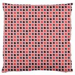 Grey Red Eggs On Pink Standard Flano Cushion Case (one Side) by snowwhitegirl