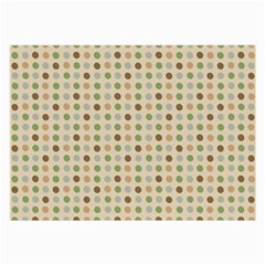 Green Brown Eggs Large Glasses Cloth by snowwhitegirl