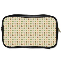 Green Brown Eggs Toiletries Bags 2 Side by snowwhitegirl