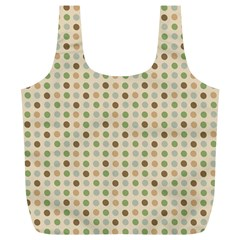 Green Brown Eggs Full Print Recycle Bags (l)  by snowwhitegirl
