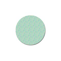 Pink Peach Green Eggs On Seafoam Golf Ball Marker (10 Pack) by snowwhitegirl