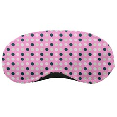 Teal White Eggs On Pink Sleeping Masks by snowwhitegirl