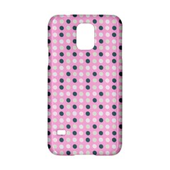 Teal White Eggs On Pink Samsung Galaxy S5 Hardshell Case  by snowwhitegirl