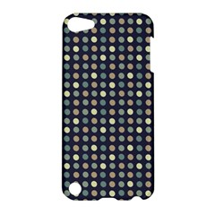 Beige Blue Cream Eggs On Grey Blue Apple Ipod Touch 5 Hardshell Case by snowwhitegirl