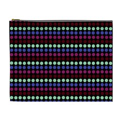 Multi Black Dots Cosmetic Bag (xl)