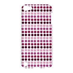 Pink Red Dots Apple Ipod Touch 5 Hardshell Case by snowwhitegirl