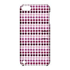 Pink Red Dots Apple Ipod Touch 5 Hardshell Case With Stand by snowwhitegirl
