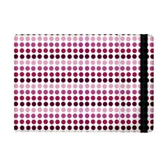 Pink Red Dots Ipad Mini 2 Flip Cases by snowwhitegirl