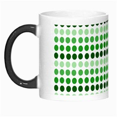 Greenish Dots Morph Mugs by snowwhitegirl