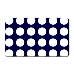 Big Dot Blue Magnet (rectangular) by snowwhitegirl