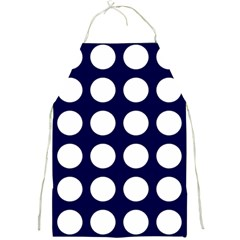 Big Dot Blue Full Print Aprons by snowwhitegirl