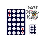 Big Dot Blue Playing Cards 54 (Mini)  Front - Diamond7
