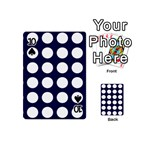 Big Dot Blue Playing Cards 54 (Mini)  Front - Spade10
