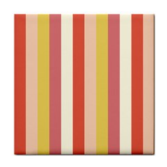 Candy Corn Tile Coasters
