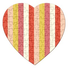 Candy Corn Jigsaw Puzzle (heart) by snowwhitegirl