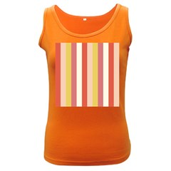Candy Corn Women s Dark Tank Top