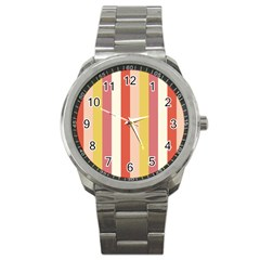 Candy Corn Sport Metal Watch by snowwhitegirl