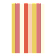 Candy Corn Shower Curtain 48  X 72  (small)  by snowwhitegirl