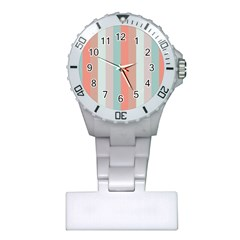 Seafoam Splash Plastic Nurses Watch by snowwhitegirl