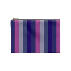 Concert Purples Cosmetic Bag (medium)  by snowwhitegirl