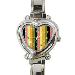 Afternoon Heart Italian Charm Watch by snowwhitegirl