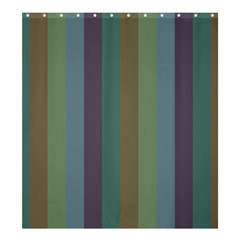Rainy Woods Shower Curtain 66  X 72  (large)  by snowwhitegirl